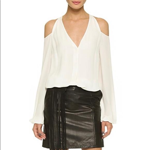e2378e1ea6b Tamara Mellon Tops - Tamara Mellon shoulderless blouse cream 2